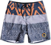 Quiksilver Techtonics Swim Trunks, Big Boys