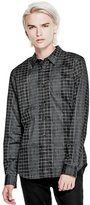 GUESS Geo-Space Check Shirt