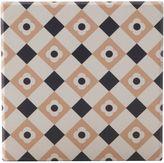 Maxwell & Williams Medina Zagora Ceramic Square Tile Coaster, 9cm