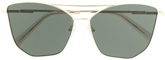 Le Specs Primeval Alt Fit cat-eye sunglasses