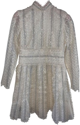 Giambattista Valli X H&m White Lace Dresses