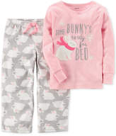 Carter's 2-Pc. Bunny's Ready For Bed Pajama Set, Toddler Girls (2T-5T)