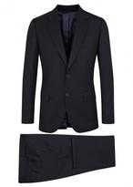 Paul Smith London Mayfair Navy Wool Travel Suit