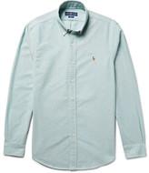 Polo Ralph Lauren Slim-fit Button-down Collar Cotton Oxford Shirt - Blue