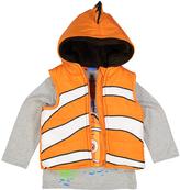 Children's Apparel Network Orange Finding Nemo Top & Vest - Toddler