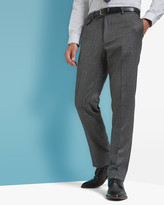 Sterling herringbone wool trousers
