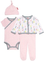 Skip Hop Pink 'ABC' Layette Set - Infant