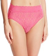 Wacoal Women's Halo Lace Hi Cut Panty