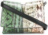 Jil Sander snakeskin shoulder bag - women - Pitone Moluro - One Size