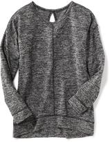 Old Navy Relaxed Keyhole-Back Tunic for Girls