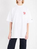 Vetements Volunteer cotton-jersey T-shirt