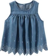 Osh Kosh Oshkosh Sleeveless T-Shirt-Toddler Girls