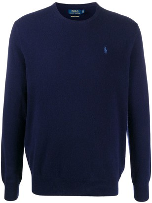 Polo Ralph Lauren Embroidered Logo Cashmere Jumper
