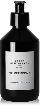 Urban Apothecary Velvet Peony Luxury Hand & Body Lotion 300ml