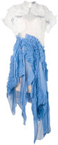 Preen by Thornton Bregazzi Natalia dress - women - Silk/Polyester/Spandex/Elastane/Viscose - M