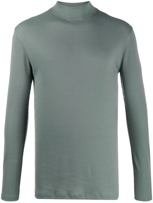 Lemaire funnel neck long sleeve top