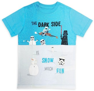 Disney Star Wars Holiday Color Block Tee for Kids