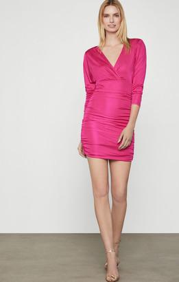 BCBGMAXAZRIA Blouson Mini Dress