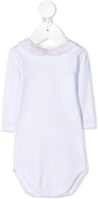 Bonpoint Ruffle-Collar Babygrow