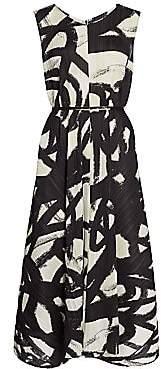 Pleats Please Issey Miyake Women's Spin Sleeveless Midi Dress