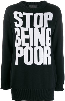 Philipp Plein Statement jumper