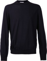 Brunello Cucinelli Elbow Patch Crewneck Sweater