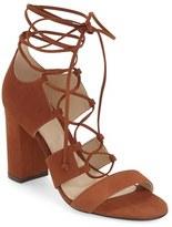 Vince Camuto Women's 'Wendell' Block Heel Ghillie Sandal