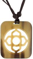 Hermes Horn Pendant Necklace