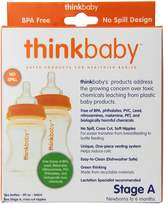 Thinkbaby BPA Free Vented Baby Bottles, 5-Ounce
