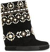 Casadei embellished Chaucer boots