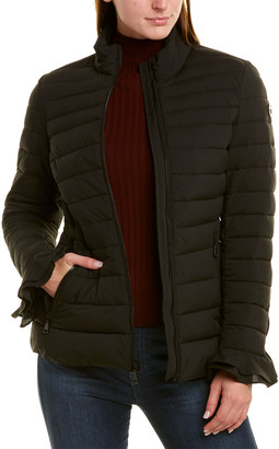 Tahari Short Down Coat