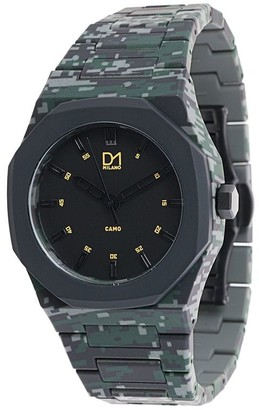 D1 Milano Camouflage Watch