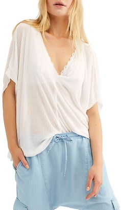 Free People Sadie Short Dolman-Sleeve T-Shirt