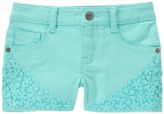 Crazy 8 Crochet Trim Shorts