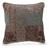 "Croscill Galleria Brown 18"" Square Decorative Pillow"