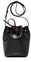 Mansur Gavriel Black Leather Mini Mini Bucket Bag