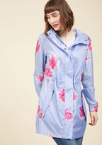 Joules The Showers That Be Raincoat in Orchids in 12