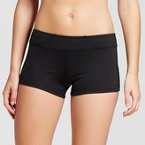 Mossimo Women's Swim Short Bikini Bottom Black