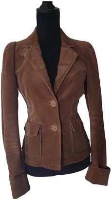 Essentiel Antwerp Camel Cotton Jackets