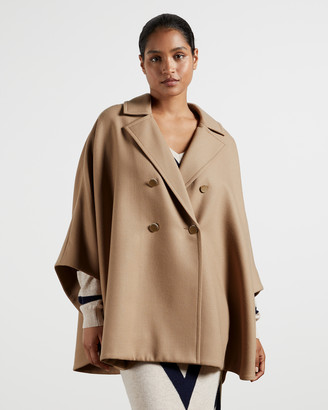 Ted Baker DONNATA Double-breasted cape coat