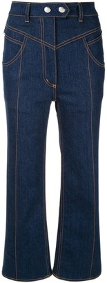 Ellery Eureka high-rise flared jeans