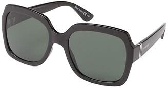 Von Zipper VonZipper Dolls (Black Gloss/Vintage Grey) Fashion Sunglasses