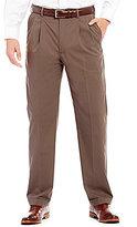 Roundtree & Yorke Travel Smart Non-Iron Double-Pleated Stretch Gabardine Dress Pants