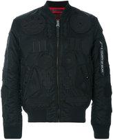 Marcelo Burlon County of Milan Rayen Alpha MA-1 jacket - men - Nylon/Polyester - M