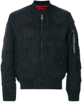 Marcelo Burlon County of Milan Rayen Alpha MA-1 jacket