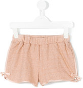 Paesaggino - shimmer shorts - kids - Cotton/Nylon/Polyester/Viscose - 4 yrs