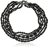 "Carolee Gotham"" Multi-Row Beaded Necklace"