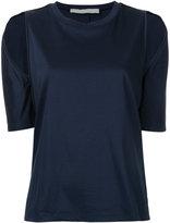 Dion Lee cutout shoulder T-shirt - women - Cotton - 6