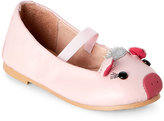 Bloch Toddler Girls) Baby Pink Piggy Mary Jane Flats