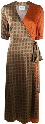 Cecilie Copenhagen Belle wrap midi dress